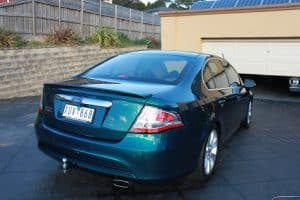 Ford G6E the ultimate falcon - car paint protection by melbourne mobile detailing Paint Protection Melbourne image 1