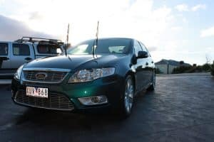 Ford G6E the ultimate falcon - car paint protection by melbourne mobile detailing Paint Protection Melbourne image 7