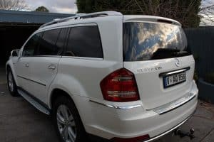 Mercedes GL 350 paint protection by melbourne mobile detailing Paint Protection Melbourne image 1