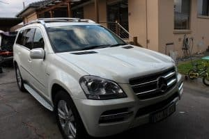 Mercedes GL 350 paint protection by melbourne mobile detailing Paint Protection Melbourne image 2