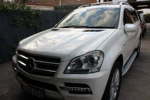 Mercedes GL 350 paint protection by melbourne mobile detailing Paint Protection Melbourne image 7
