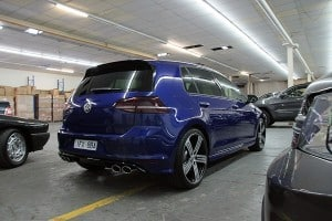 Volkswagen Golf R - Lapiz Blue - Paint protection by Melbourne Mobile Detailing Paint Protection Melbourne image 44