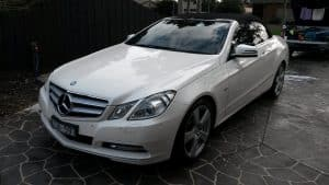 Mercedes E250 Paint protection by Melbourne Mobile Detailing Paint Protection Melbourne image 1