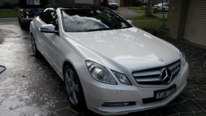 Mercedes E250 Paint protection by Melbourne Mobile Detailing Paint Protection Melbourne image 2