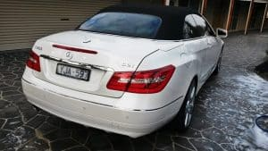 Mercedes E250 Paint protection by Melbourne Mobile Detailing Paint Protection Melbourne image 3