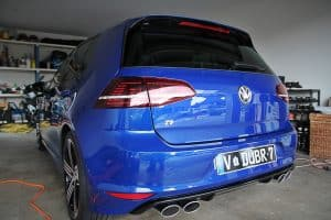 Paint protection melbourne Volkswagen Golf R Paint Protection Melbourne image 1