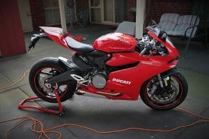 Ducati 899 Panigale exterior paint protection in Melbourne Paint Protection Melbourne image 10