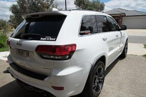 Jeep Grand Cherokee SRT, Cquartz Finest paint protection Melbourne Paint Protection Melbourne image 1