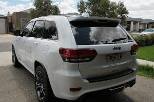 Jeep Grand Cherokee SRT, Cquartz Finest paint protection Melbourne Paint Protection Melbourne image 7