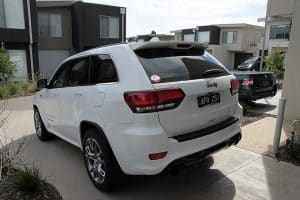 Jeep Grand Cherokee SRT, Cquartz Finest paint protection Melbourne Paint Protection Melbourne image 18