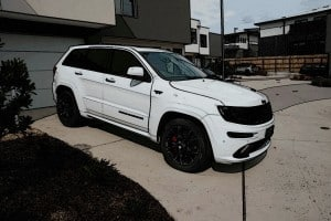 Jeep Grand Cherokee SRT, Cquartz Finest paint protection Melbourne Paint Protection Melbourne image 26