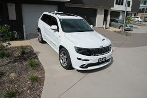 Jeep Grand Cherokee SRT, Cquartz Finest paint protection Melbourne Paint Protection Melbourne image 9