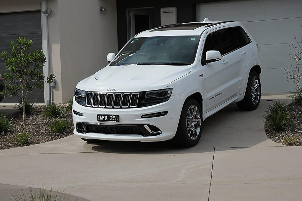Jeep Grand Cherokee SRT, Cquartz Finest paint protection Melbourne Paint Protection Melbourne