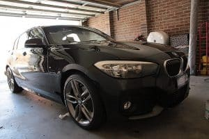 BMW 120i paint protection Melbourne, mobile service, Cquartz finest Paint Protection Melbourne image 7