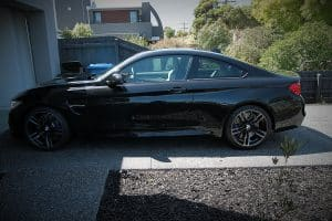 BMW M4 with the application of CQuartz Finest paint protection Paint Protection Melbourne image 14