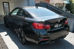 BMW M4 with the application of CQuartz Finest paint protection Paint Protection Melbourne image 4