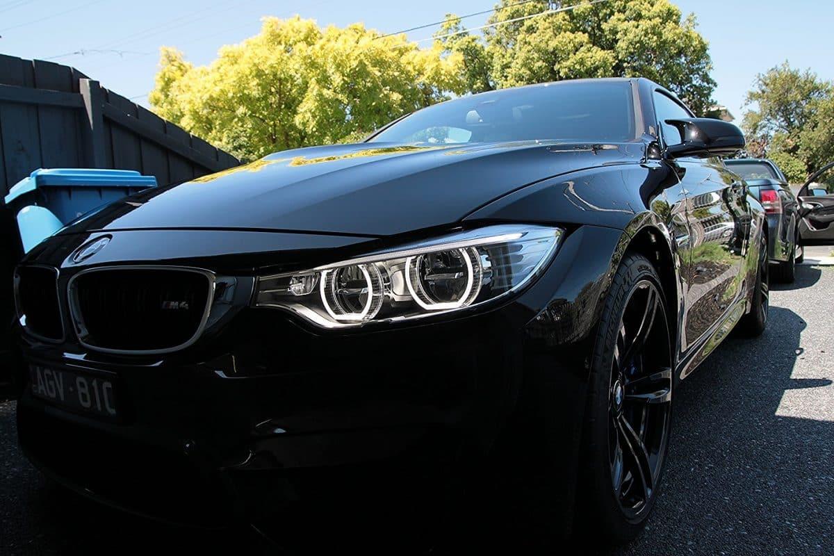 BMW M4 with the application of CQuartz Finest paint protection Paint Protection Melbourne image 8