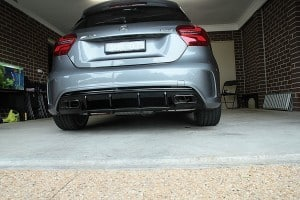 Mercedes AMG A45 with the application of Cquartz Finest paint protection Paint Protection Melbourne image 32