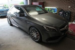 Mercedes AMG A45 with the application of Cquartz Finest paint protection Paint Protection Melbourne image 35