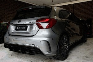 Mercedes AMG A45 with the application of Cquartz Finest paint protection Paint Protection Melbourne image 23