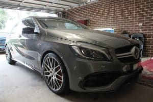 Mercedes AMG A45 with the application of Cquartz Finest paint protection Paint Protection Melbourne image 26
