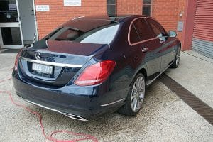 Mercedes C250 with the application of Cquartz Finest paint protection in Melbourne Paint Protection Melbourne image 11
