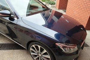 Mercedes C250 with the application of Cquartz Finest paint protection in Melbourne Paint Protection Melbourne image 20