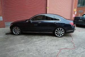 Mercedes C250 with the application of Cquartz Finest paint protection in Melbourne Paint Protection Melbourne image 21