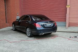 Mercedes C250 with the application of Cquartz Finest paint protection in Melbourne Paint Protection Melbourne image 22
