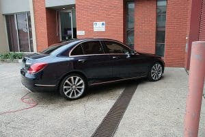Mercedes C250 with the application of Cquartz Finest paint protection in Melbourne Paint Protection Melbourne image 12