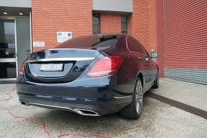 Mercedes C250 with the application of Cquartz Finest paint protection in Melbourne Paint Protection Melbourne image 13