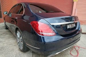 Mercedes C250 with the application of Cquartz Finest paint protection in Melbourne Paint Protection Melbourne image 15