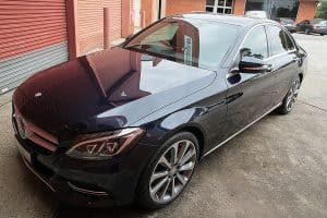 Mercedes C250 with the application of Cquartz Finest paint protection in Melbourne Paint Protection Melbourne image 16