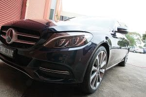 Mercedes C250 with the application of Cquartz Finest paint protection in Melbourne Paint Protection Melbourne image 17