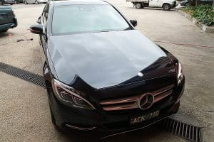 Mercedes C250 with the application of Cquartz Finest paint protection in Melbourne Paint Protection Melbourne image 18