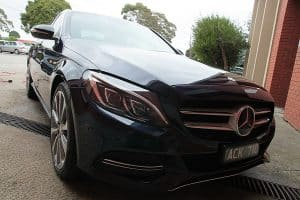 Mercedes C250 with the application of Cquartz Finest paint protection in Melbourne Paint Protection Melbourne image 19