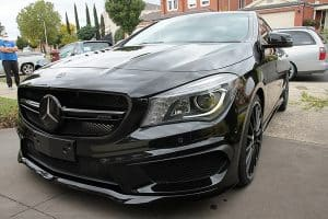 Mercedes Benz CLA45 AMG, Cquartz Finest paint protection Melbourne Paint Protection Melbourne image 4