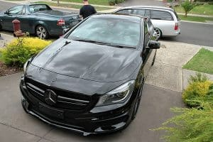 Mercedes Benz CLA45 AMG, Cquartz Finest paint protection Melbourne Paint Protection Melbourne image 5