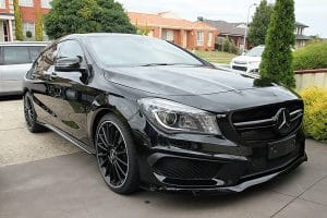 Mercedes Benz CLA45 AMG, Cquartz Finest paint protection Melbourne Paint Protection Melbourne image 6