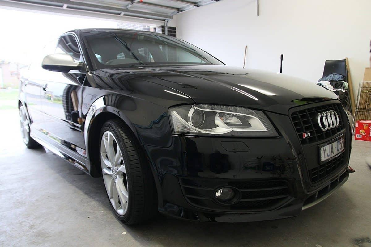 Audi S3 in black with Cquartz finest paint protection Melbourne Paint Protection Melbourne image 11